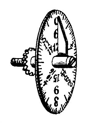 Carters Scale dial drawing